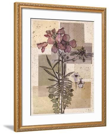 Flowers For Rene I-Forrest Michaels-Framed Art Print