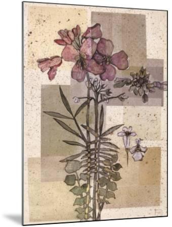 Flowers For Rene I-Forrest Michaels-Mounted Art Print