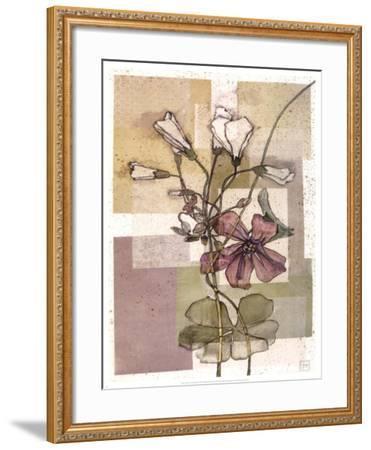 Flowers For Rene II-Forrest Michaels-Framed Art Print