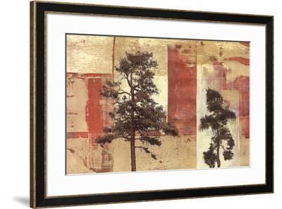 Parchment Trees II-Friedbert Renbaum-Framed Art Print