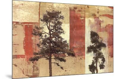 Parchment Trees II-Friedbert Renbaum-Mounted Art Print