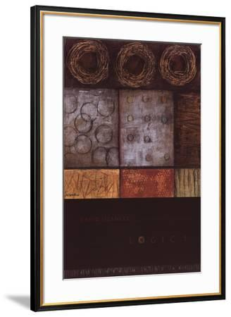 Logic I-David Lizanetz-Framed Art Print