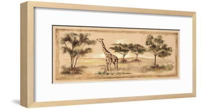 Safari Giraffe-Ann Brodhead-Framed Art Print