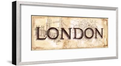 London-Ann Brodhead-Framed Art Print