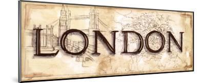London-Ann Brodhead-Mounted Art Print
