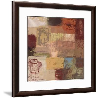 Cafe Renaissance II-Arbess Bailey-Framed Art Print