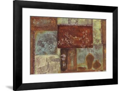 Bloom Berry II- Axtongiddings-Framed Art Print