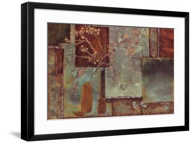 Bloom Berry I- Axtongiddings-Framed Art Print