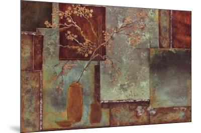 Bloom Berry I- Axtongiddings-Mounted Art Print