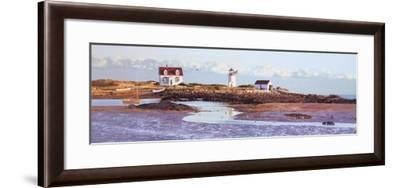 Goat Island Light II-Unknown-Framed Art Print