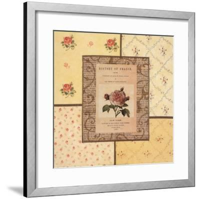 Hampton Roses II- Beckesh-Framed Art Print