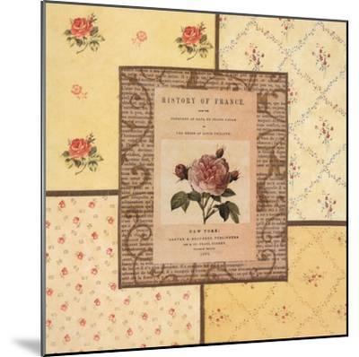 Hampton Roses II- Beckesh-Mounted Art Print