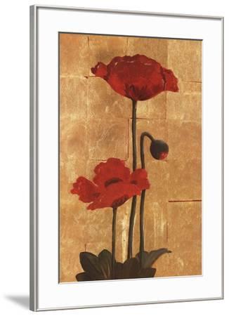 Golden Poppy II-Adam Lewis-Framed Art Print