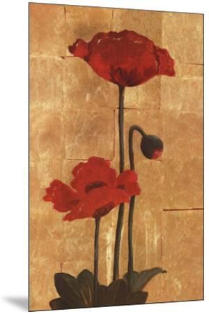 Golden Poppy II-Adam Lewis-Mounted Art Print