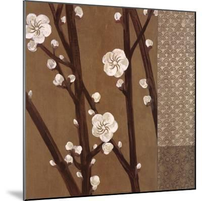 Eastern Blossoms 2-Unknown-Mounted Art Print