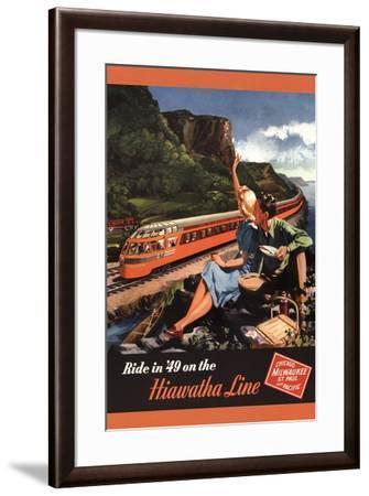 Hiawatha 1949-Unknown-Framed Art Print