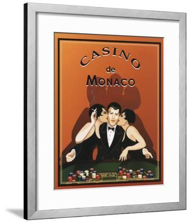 Casino de Monaco-Poto Leifi-Framed Art Print