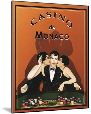 Casino de Monaco-Poto Leifi-Mounted Art Print