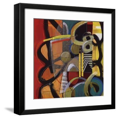 Vital Energies-Janet O'neal-Framed Art Print