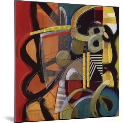 Vital Energies-Janet O'neal-Mounted Art Print