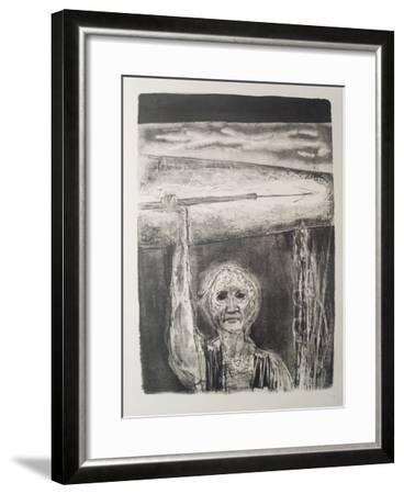 The Burning Harpoon-Benton Spruance-Framed Art Print