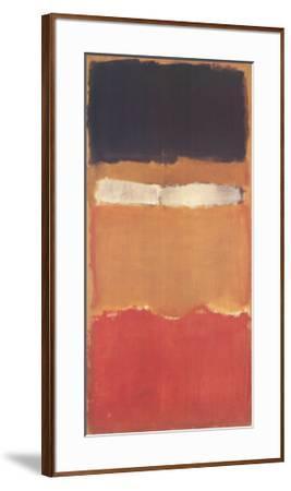 Untitled-Mark Rothko-Framed Art Print