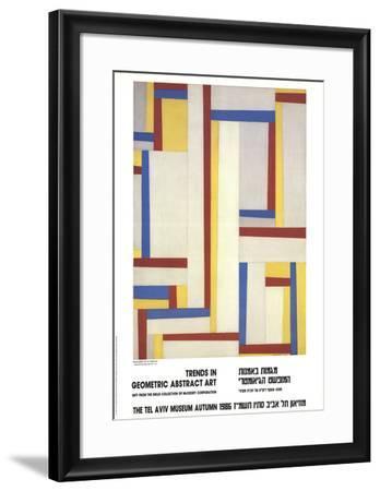 Relational Painting-Fritz Glarner-Framed Art Print
