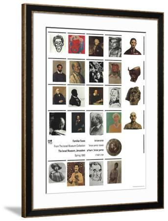 Familiar Faces-Unknown-Framed Art Print