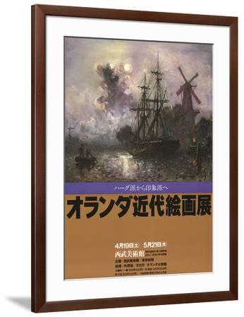Evening Battle-J^ M^ W^ Turner-Framed Art Print