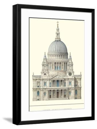 London, St. Paul's Cathedral-Unknown-Framed Art Print