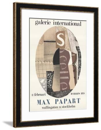 Galerie International-Max Papart-Framed Art Print