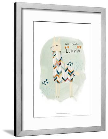 Llama Squad I-June Erica Vess-Framed Art Print