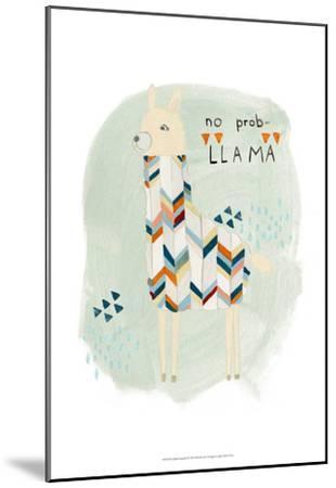 Llama Squad I-June Erica Vess-Mounted Art Print
