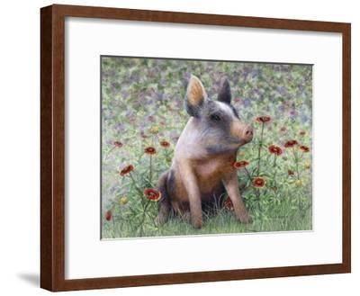 Flower Girl-Marcia Matcham-Framed Art Print