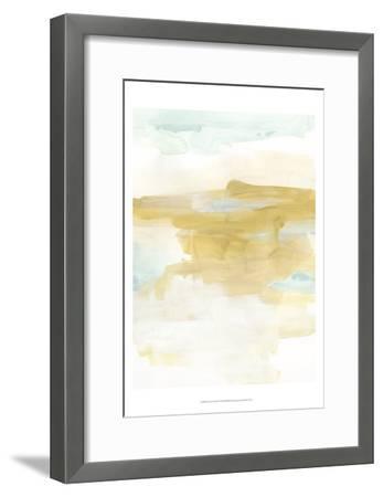 Citron Vista II-June Erica Vess-Framed Art Print