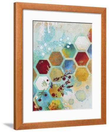 Aflutter II-Heather Robinson-Framed Giclee Print