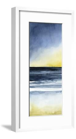 Layered Sunset Triptych I-Grace Popp-Framed Art Print