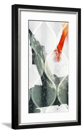 Minimal Wave II-Sisa Jasper-Framed Art Print