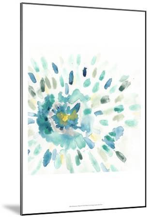 Starburst Floral I-June Erica Vess-Mounted Art Print