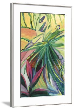 Jardin Abstracto I-Suzanne Wilkins-Framed Art Print