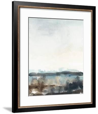 Horizon Flow II-June Erica Vess-Framed Art Print