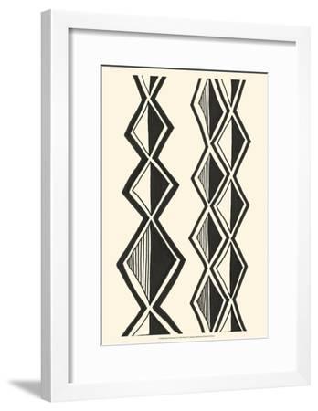 Mud Cloth Study II-Renee W^ Stramel-Framed Art Print