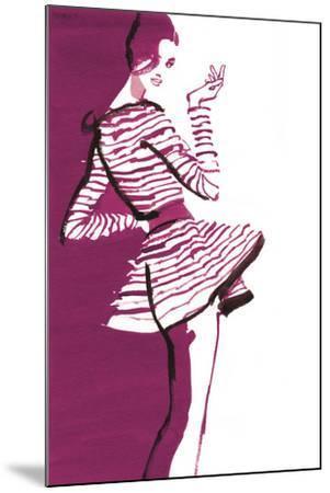 Ruby Corinne-Barbara Tyler Ahlfield-Mounted Giclee Print