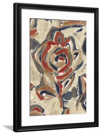 Coastal Flower II-Sandra Jacobs-Framed Giclee Print