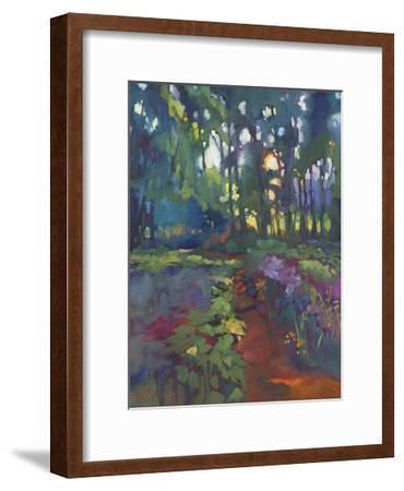 A Walk After Breakfast-Karen Mathison Schmidt-Framed Art Print