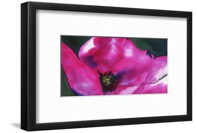 Neon Poppy-Jessica Durrant-Framed Art Print