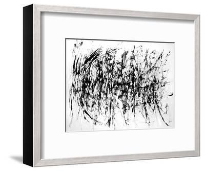 Tattered by the Wind-Gizara-Framed Art Print