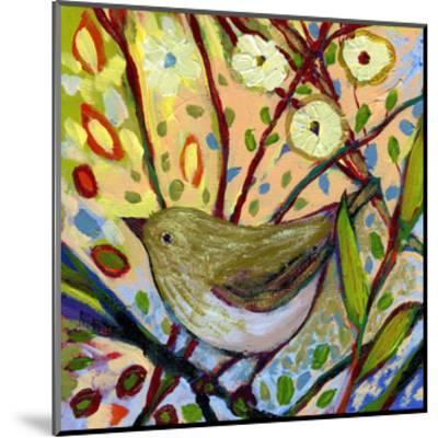 Modern Bird IV-Jennifer Lommers-Mounted Art Print