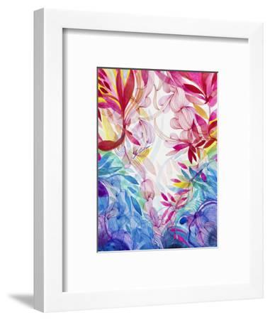 Tropical Love-Helen Wells-Framed Art Print