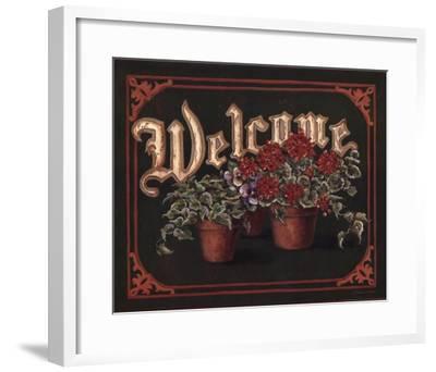 Welcome-Stephanie Marrott-Framed Art Print